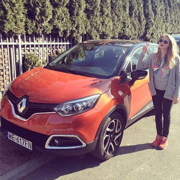 Marta Wierzbicka pochwaliła się własnym samochodem