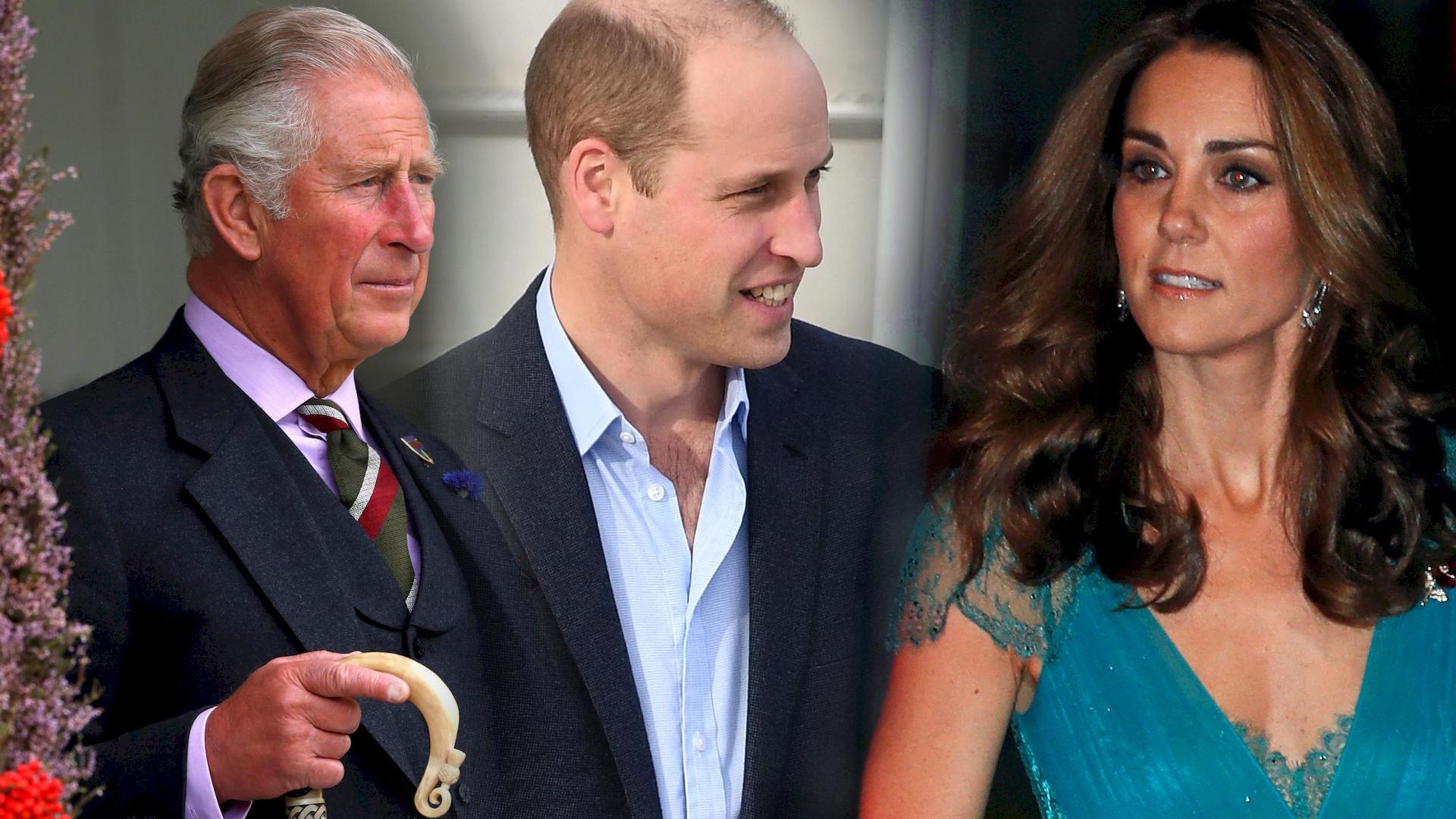 Książę Karol powiedział Williamowi, żeby ZERWAŁ z Kate