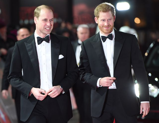 William i Harry wcale nie mieli być Williamem i Harrym