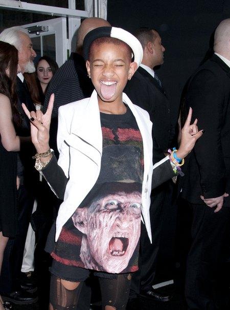 Willow Smith z Freddym Kruegerem na koszulce (FOTO)