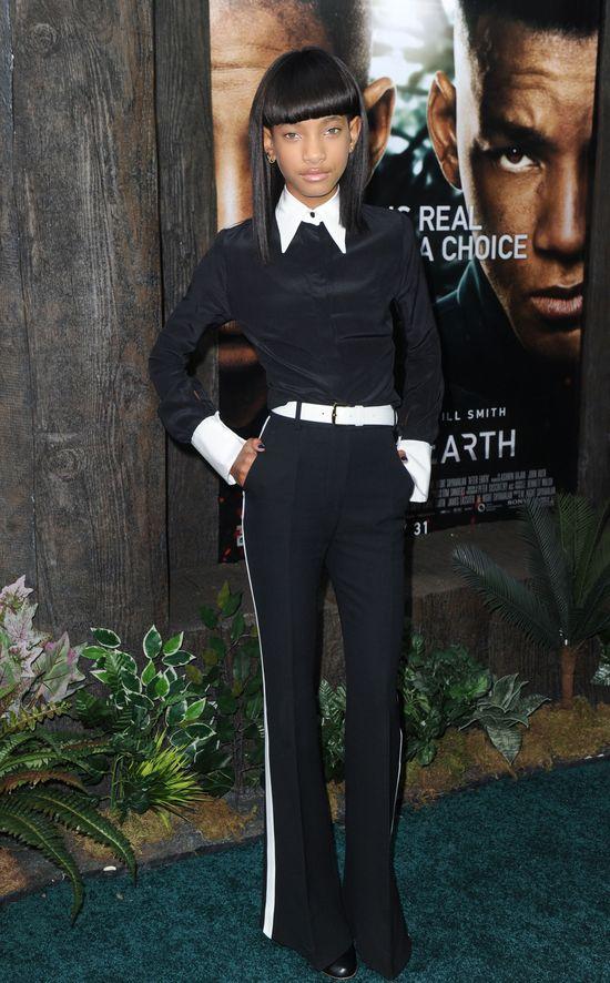 Willow Smith w peruce na premierze (FOTO)