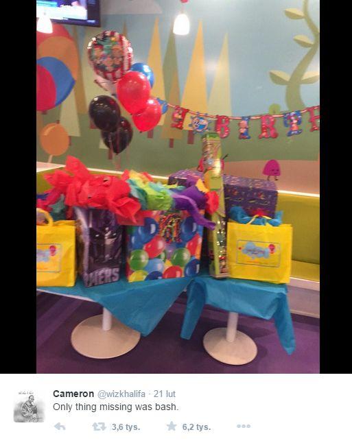 Były Amber Rose na próżno przygotował urodziny dla synka