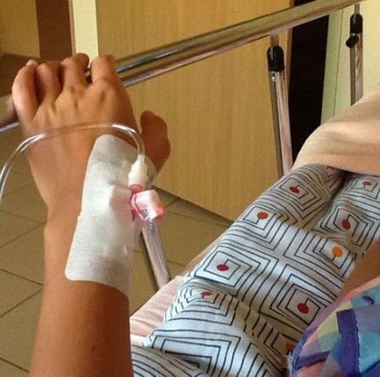 Dominika Wodzianka jest w szpitalu