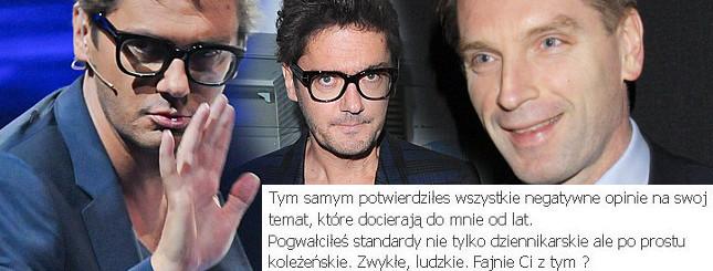 Wojewódzki o Tomaszu Lisie: Pionek!