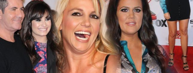 Odchudzona Kardashianka i roześmiana Spears (FOTO)