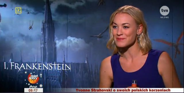 Gwiazda Ja, Frankenstein i Dextera płynnie mówi po polsku!