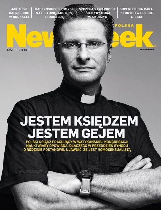 Rafał Maślak ostro pojechał po księdzu geju