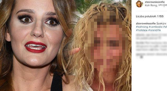 OMG! Co się stało z twarzą Zofii Zborowskiej? (Instagram)