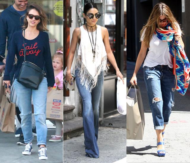 Noś jeansy jak gwiazda!