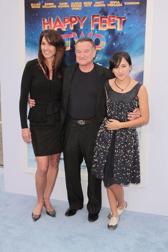 C�rka Robina Williamsa skomentowa�a odej�cie ojca