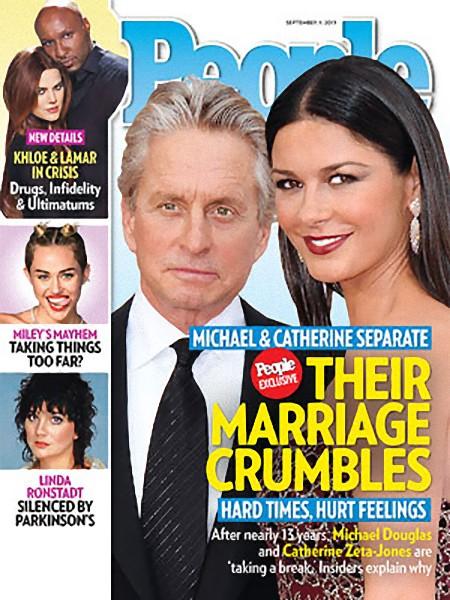 Michael Douglas i Catherine Zeta-Jones są w separacji