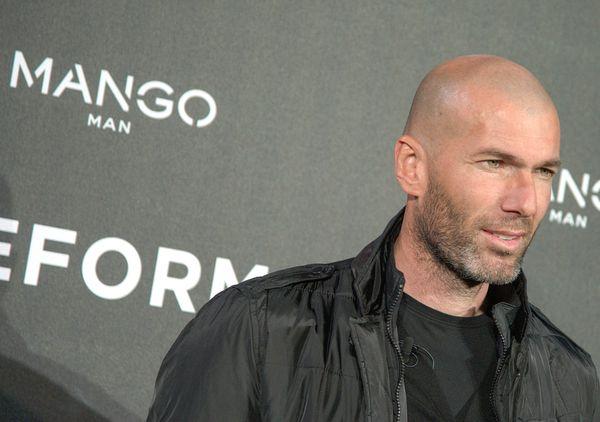 Zinedine Zidane nowa twarzą Mango (FOTO)