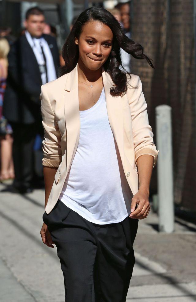 Zoe Saldana jest w bliźniaczej ciąży! (FOTO)