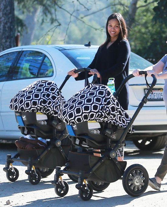 Zoe Saldana wreszcie pokaza�a zdj�cia dzieci (Insta)