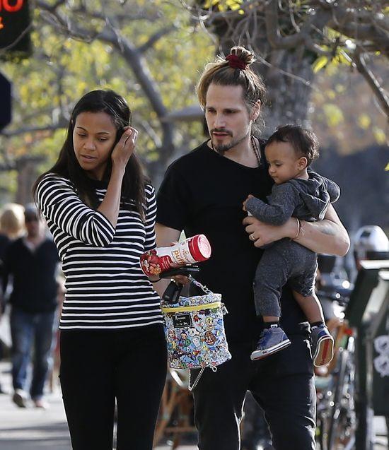 Zoe Saldana ma urocze dzieciaki (FOTO)