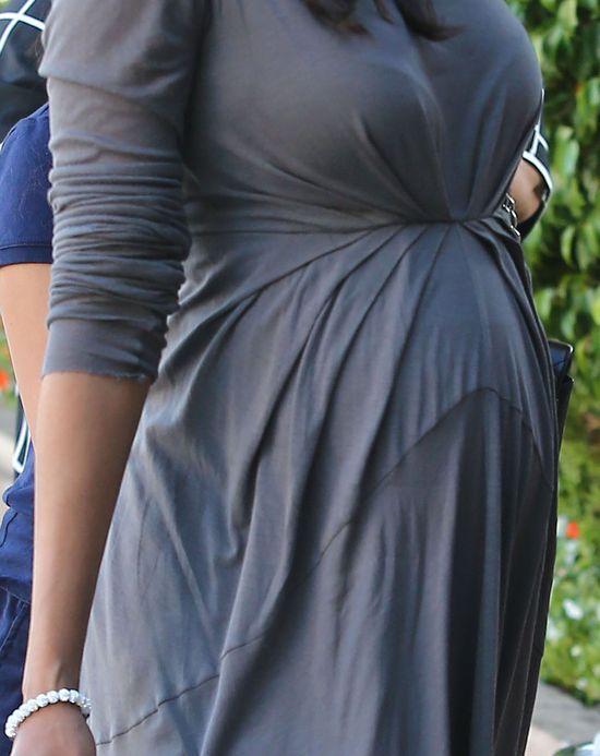 Zoe Saldana już jest zmęczona ciążą (FOTO)
