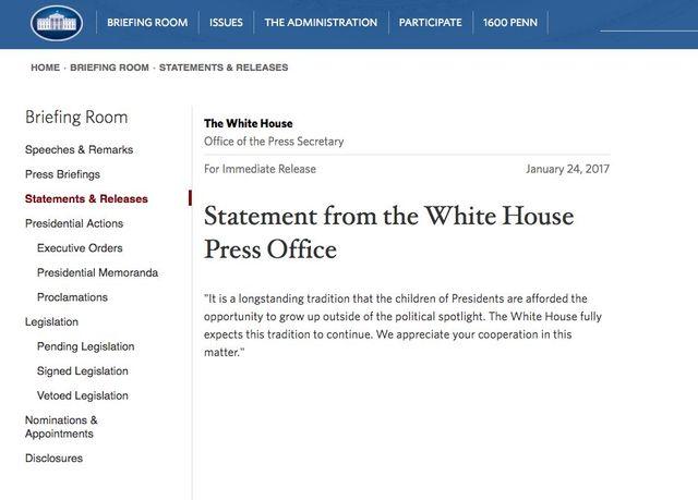 Biały Dom wydał oświadczenia w sprawie wyśmiewania Barrona Trumpa!