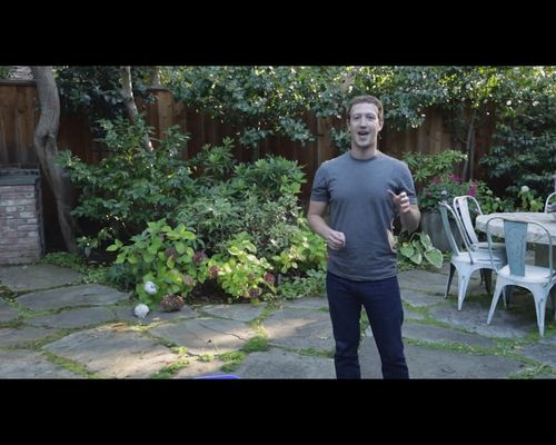 Mark Zuckerberg robi SPLASH lodowatą wodą [VIDEO]
