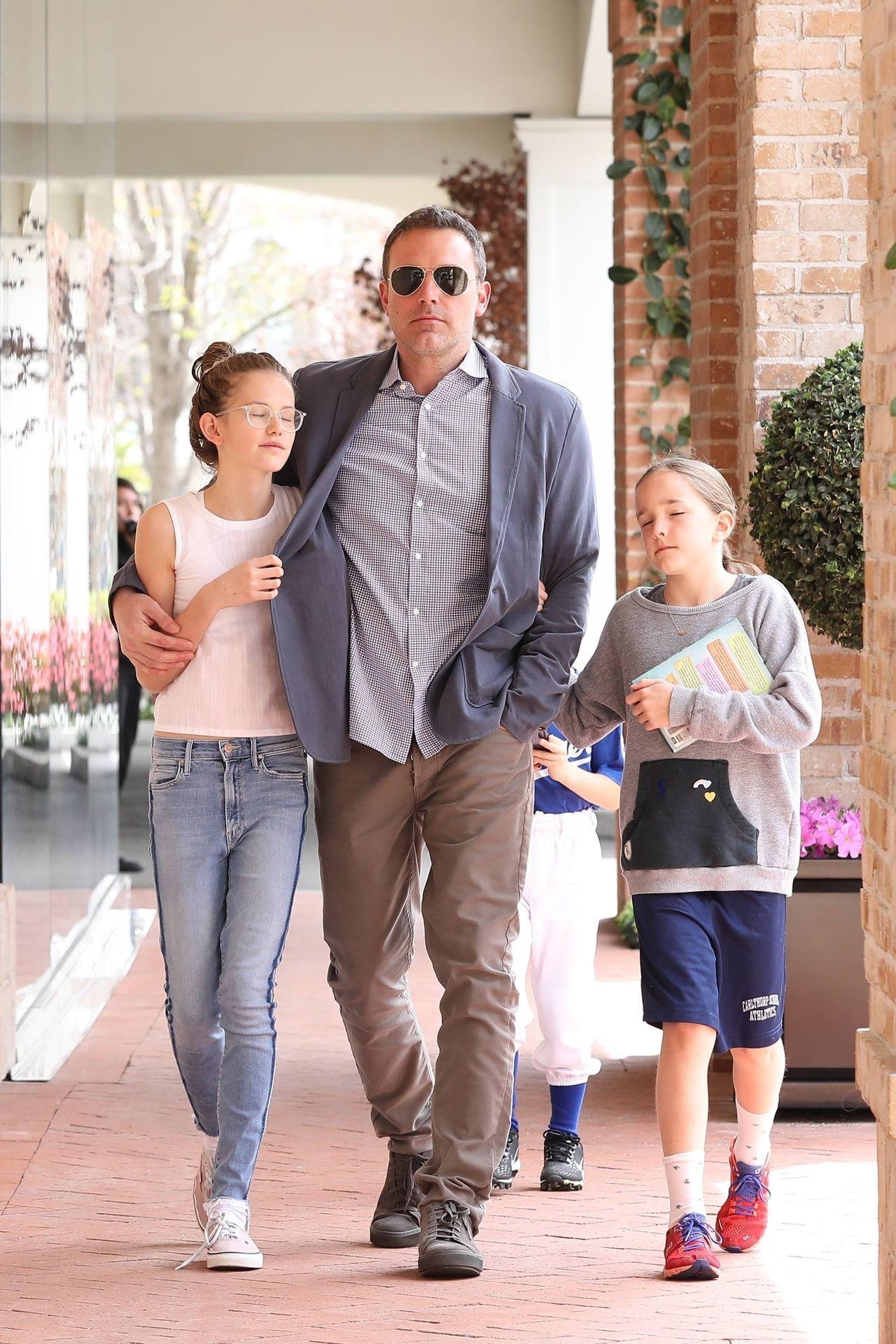 Ben Aflleck z dziećmi