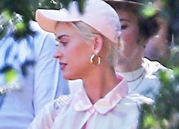 Katy Perry and Orlando Bloom attend Kanye West's church for Sunday services Katy Perry