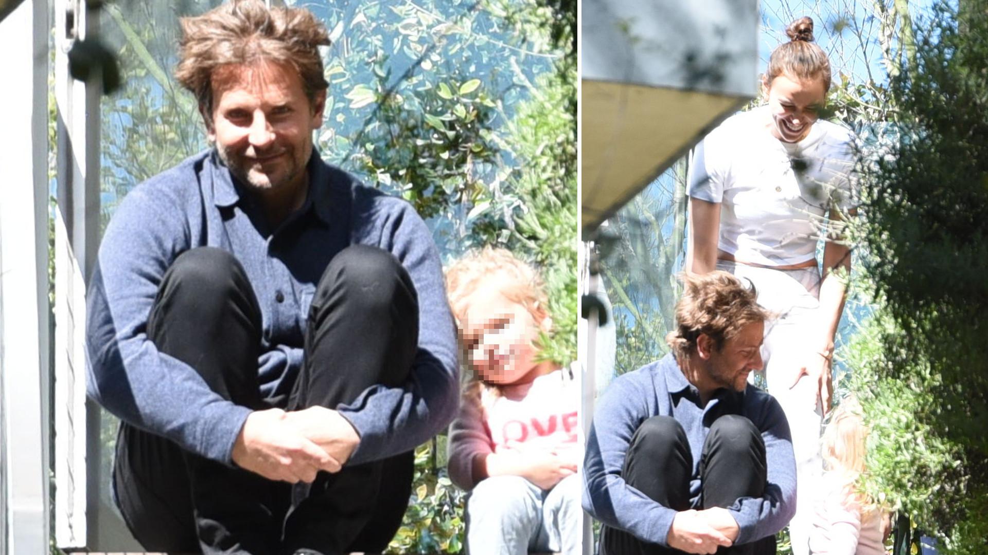Irina Shayk i Bradley Cooper spędzają wspólnie czas z córeczką Leą – koniec plotek o kryzysie?