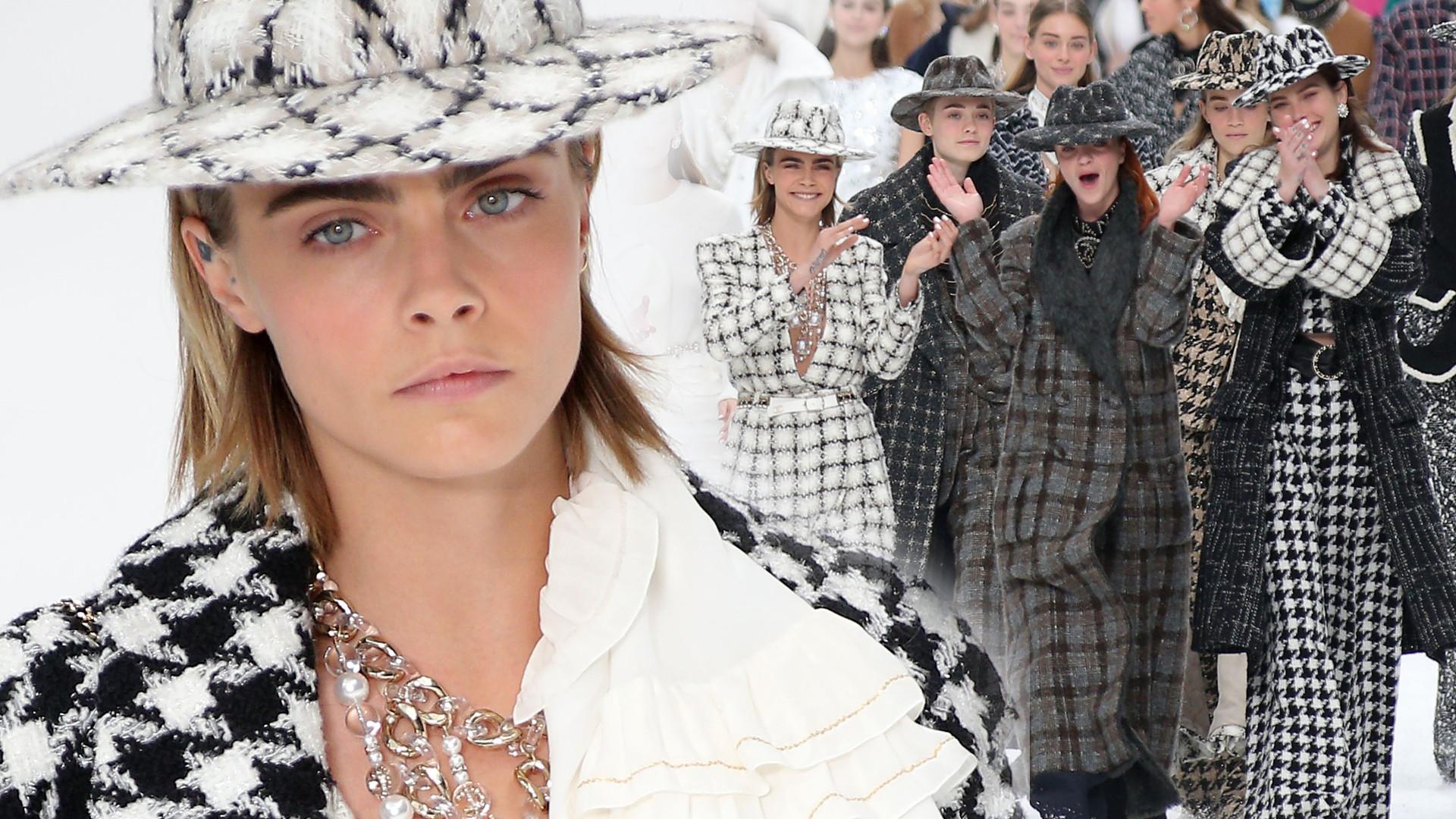 NIEZWYKŁY pokaz nowej kolekcji Chanel (GALERIA)
