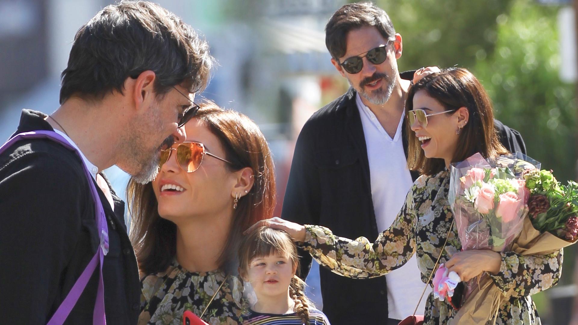 Jenna Dewan z partnerem, Stevem Kazee i córką Everly w drodze na spektakl (ZDJĘCIA)