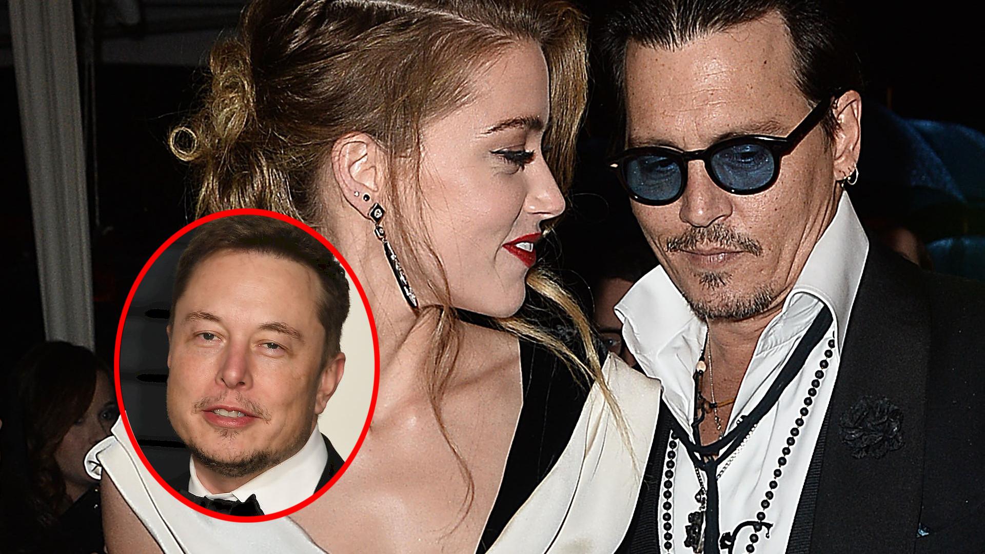 Johnny Depp POZYWA Amber Heard i twierdzi, że ZDRADZAŁA go z Elonem Muskiem