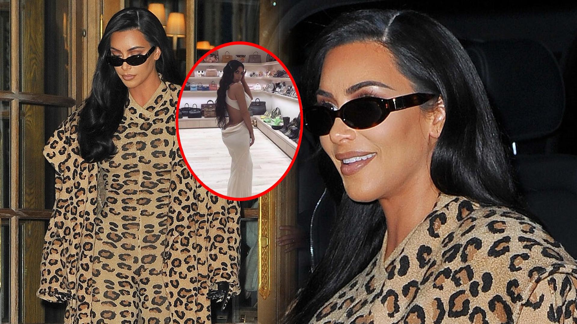 Kim Kardashian pokazuje na Instagramie swoją garderobę – wygląda jak SKLEP!