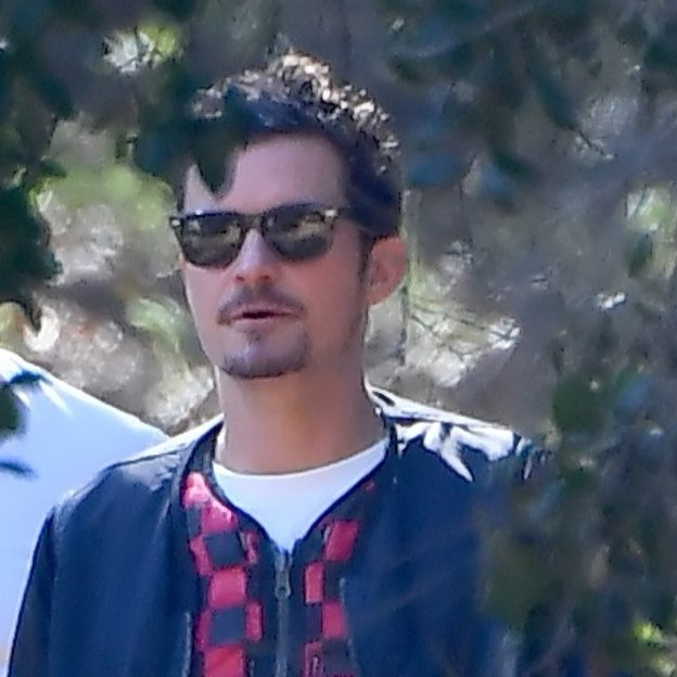 Katy Perry and Orlando Bloom attend Kanye and Kim Kardashian's church for Sunday Services