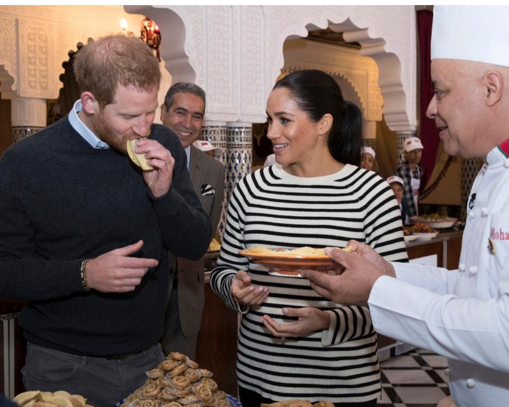 Prince Harry i Meghan Markle.
