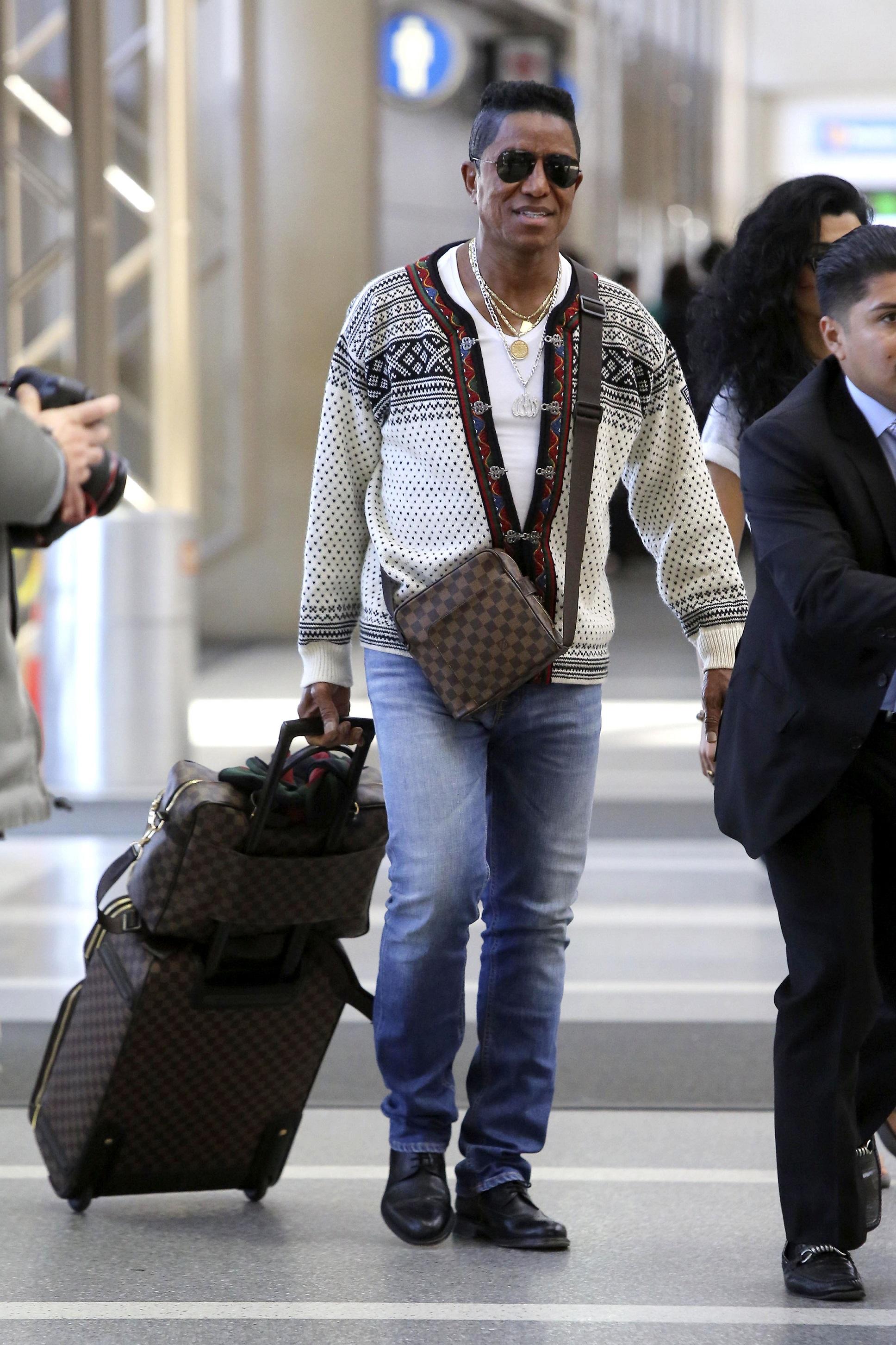 Jermaine Jackson and Halima plan on safe travels Jermaine Jackson