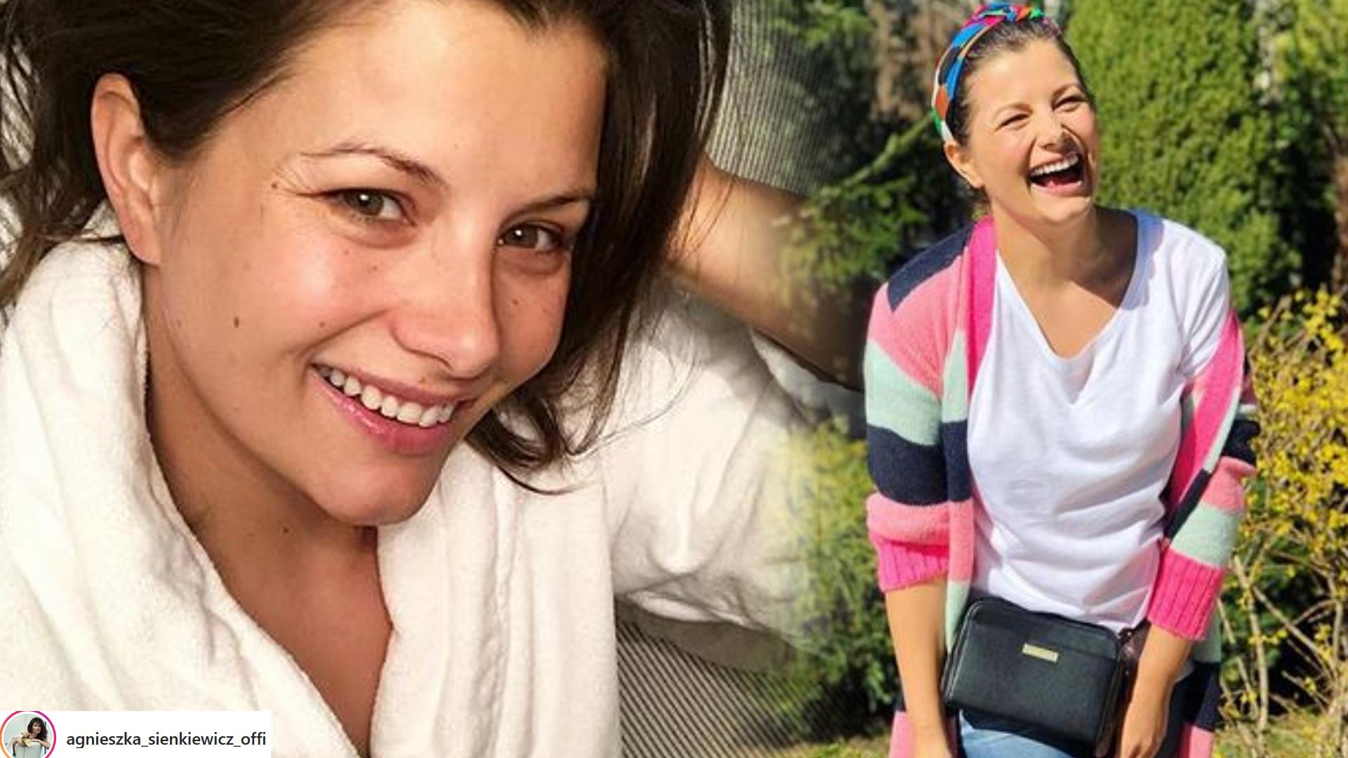 Agnieszka Sienkiewicz SZCZERZE o CIĄŻY: Wiem, że wypada mówić jak cudnie…