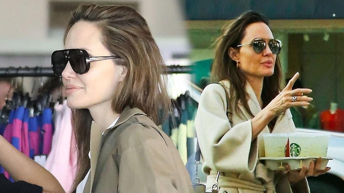 """Angelina Jolie spotyka się z brytyjskim miliarderem? """"Na pewno nie wróci do Brada"""""""