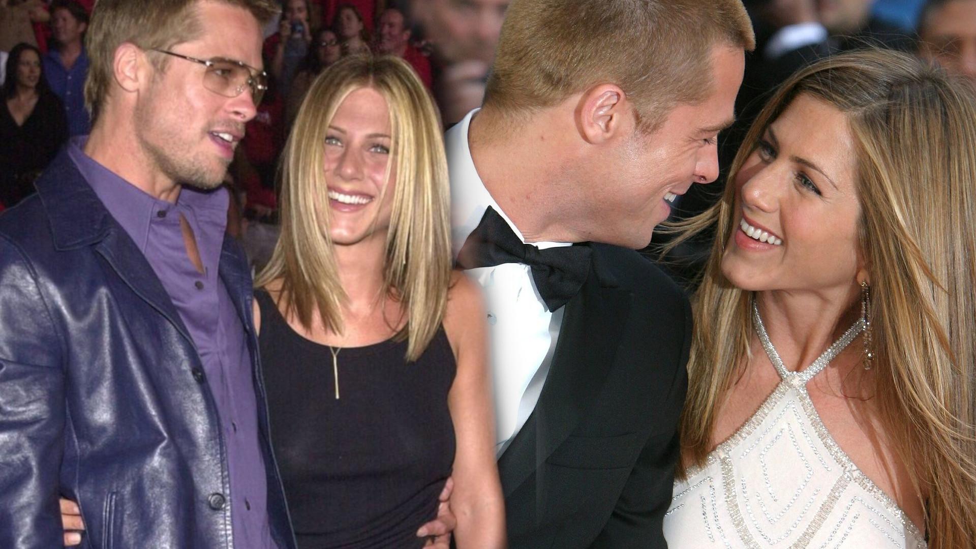 Brad Pitt i Jennifer Aniston wzięli potajemny ŚLUB! Informacja wywołała BURZĘ