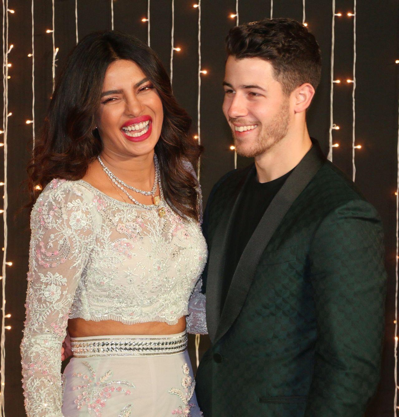 Priyanka Chopra and Nick Jonas continue glamorous wedding celebrations with a third Reception in Mumbai / Zed Jameson / BACKGRID , kod: Priyanka Chopra and Nick Jonas