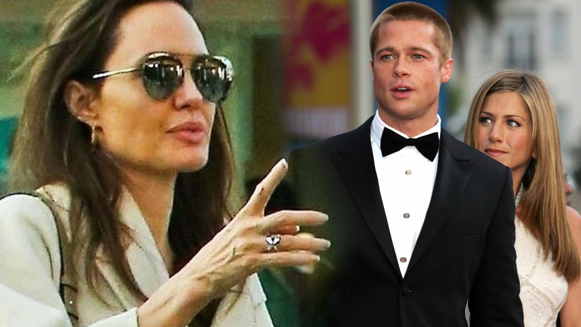 Angelina Jolie wbiła szpilę Jennifer Aniston – poszło o Brada Pitta