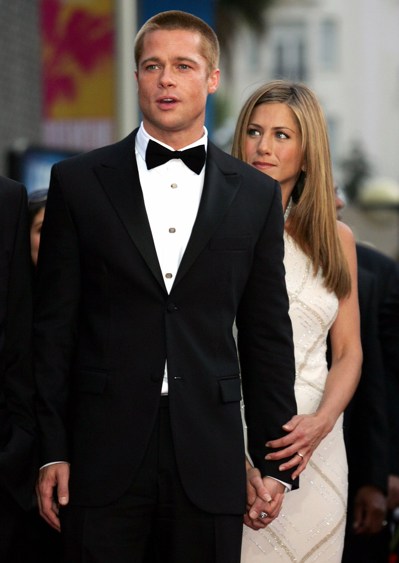 File photo of Brad Pitt and Jennifer Aniston at the 57th Cannes Film Festival