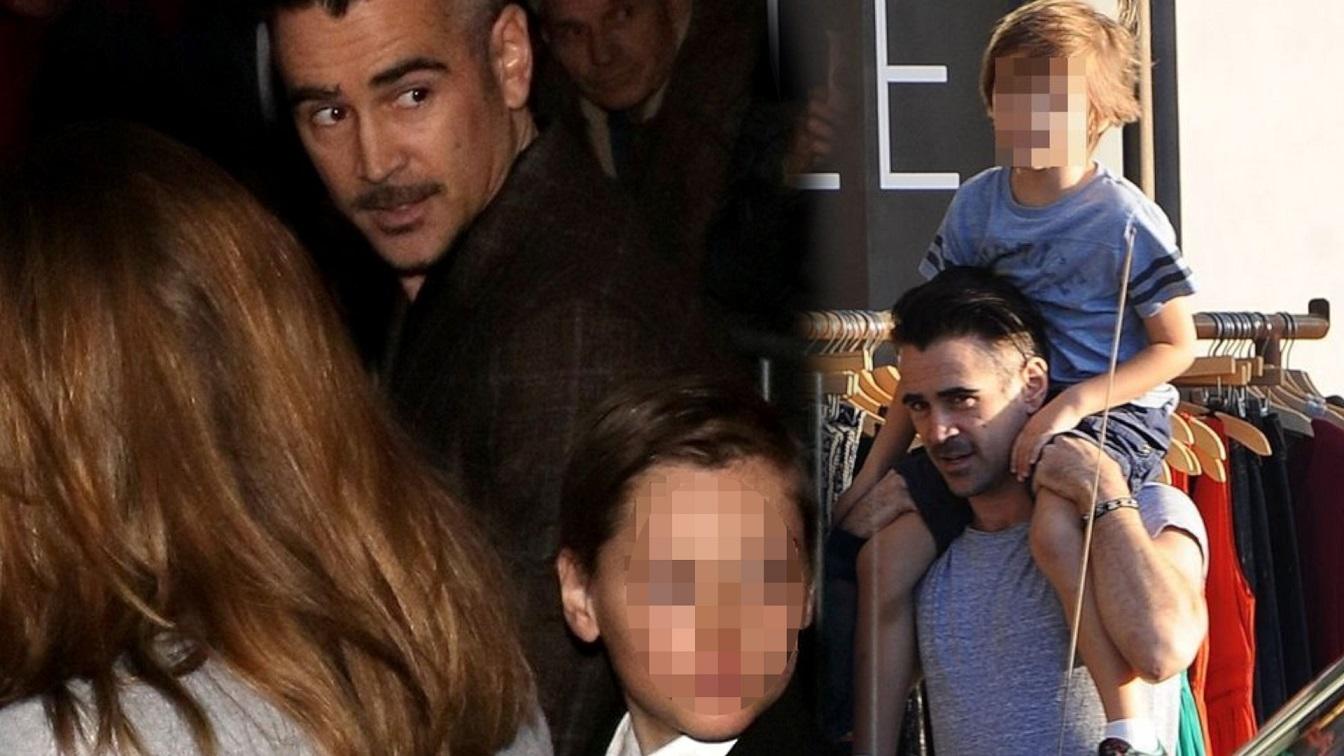 Colin Farrell o synu – Henryku. Nie raz udowodnił, że jest dobrym ojcem, ale nie partnerem