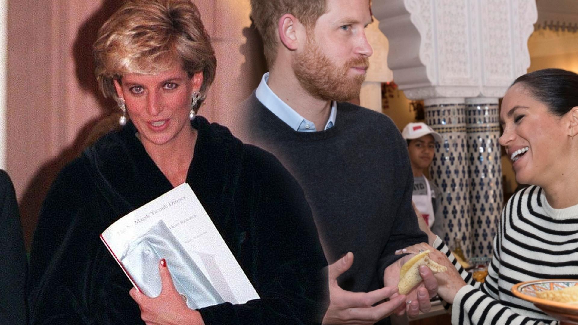 Medium księżnej Diany ma SZOKUJĄCĄ wiadomość dla Harry'ego. Chodzi o księżną Meghan