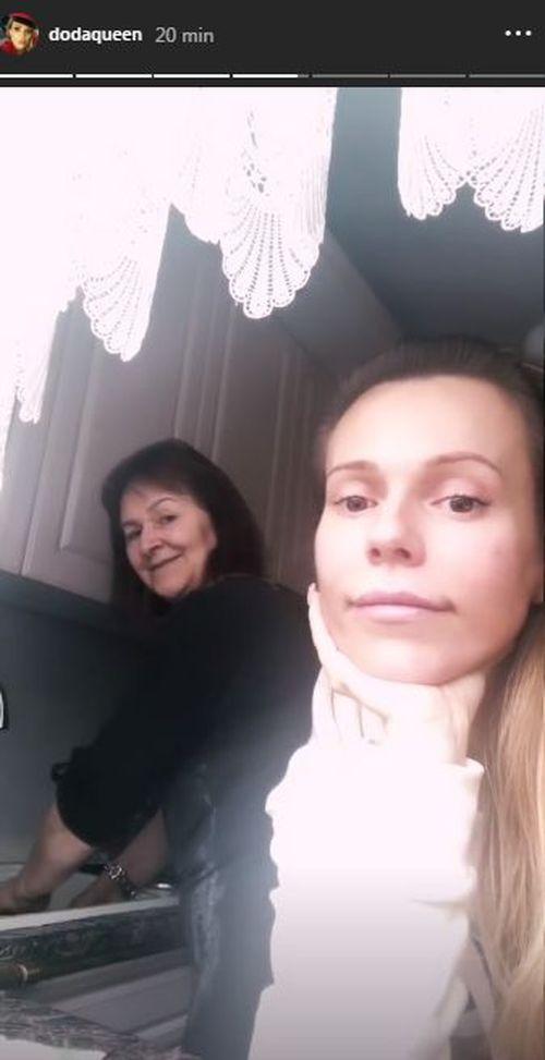 Doda z mamą
