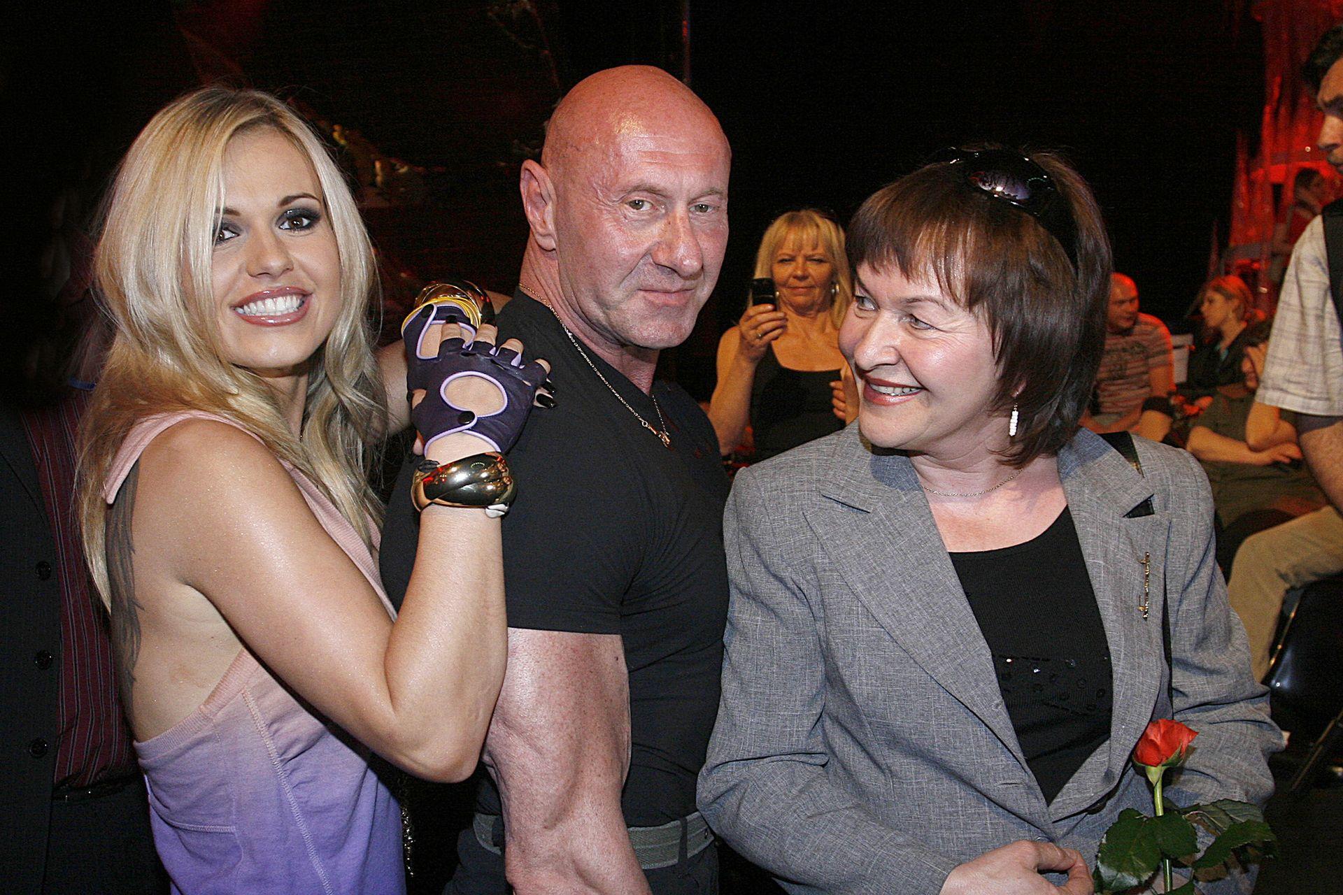 Doda z ojcem, Pawłem Rabczewskim i mamą Wandą