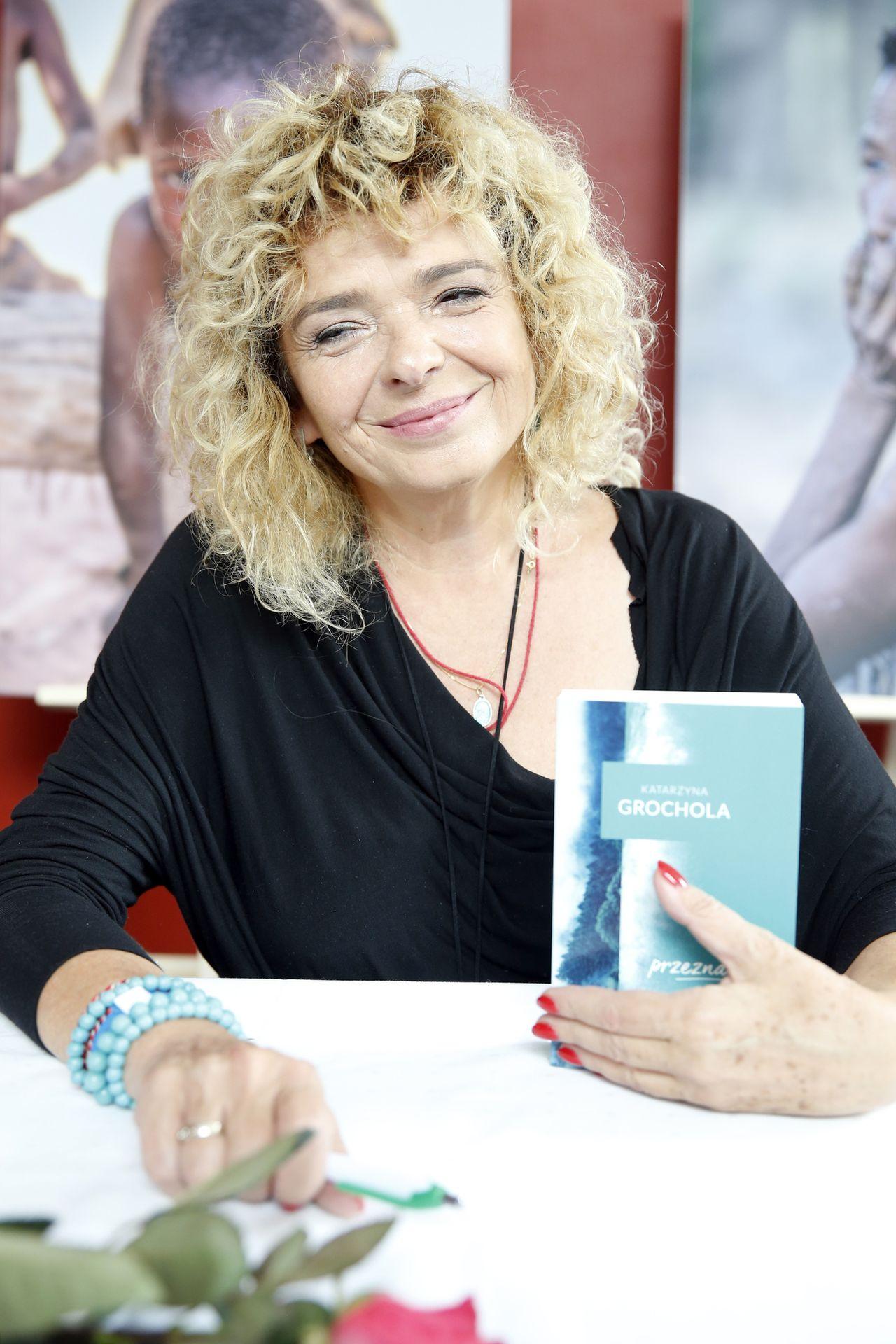 Katarzyna Grochola na starych zdjęciach