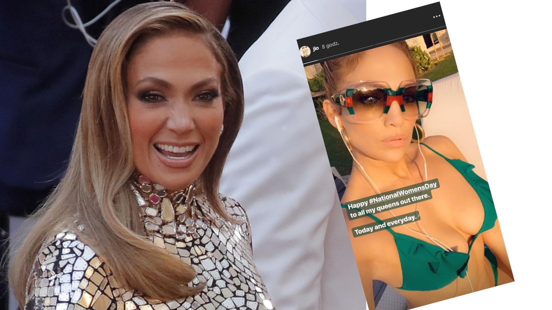 49-letnia Jennifer Lopez na plaży w bikini