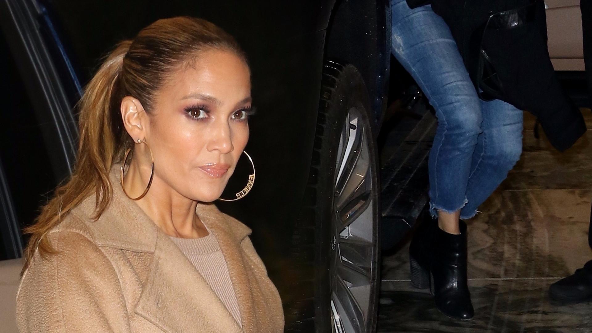 Jennifer Lopez z młodszą siostrą Lyndą na kolacji (ZDJĘCIA)