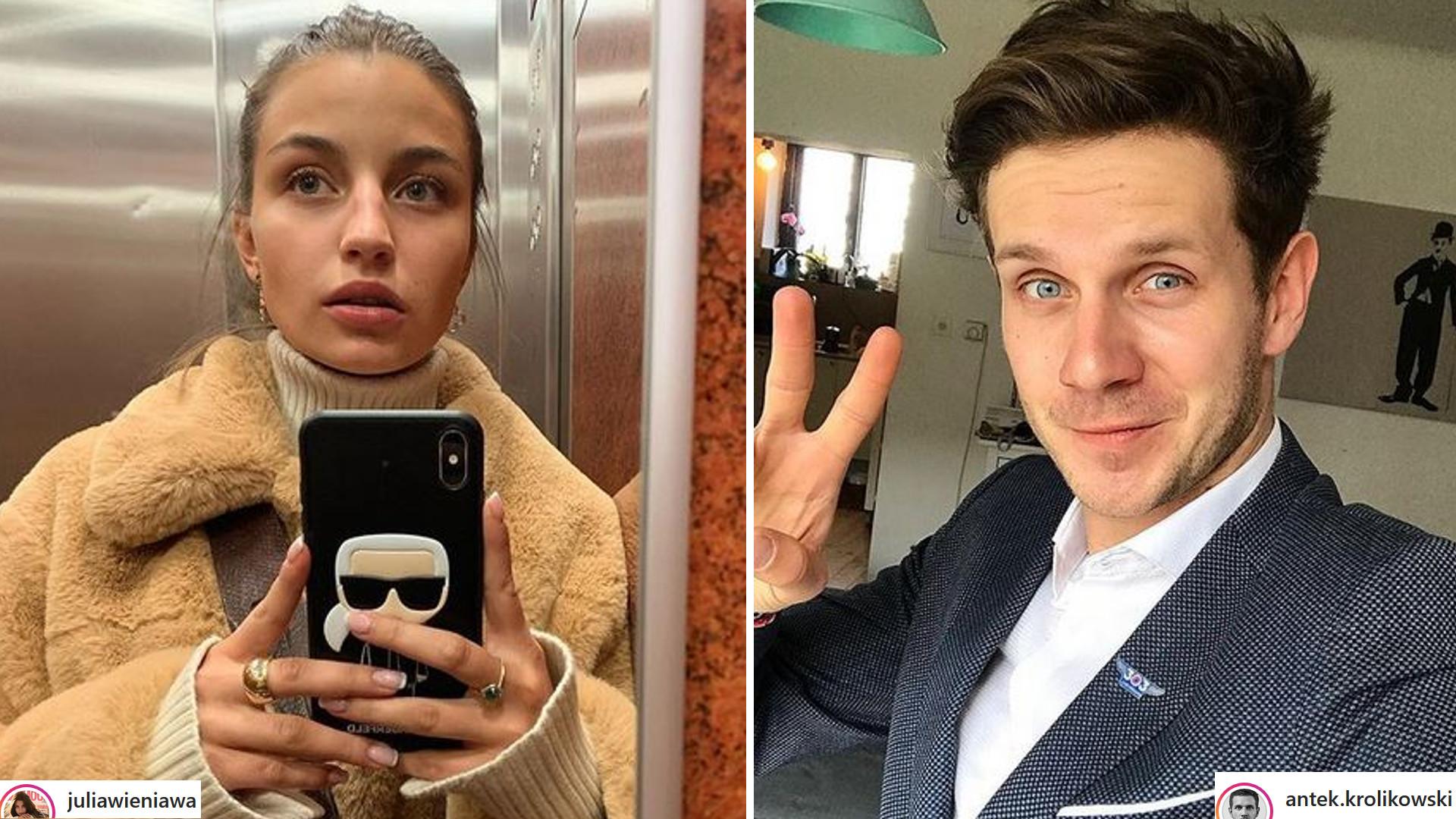 Julia Wieniawa i Antek Królikowski jednak nie rozstali się w zgodzie? Coś wydarzyło się na ich Instagramach