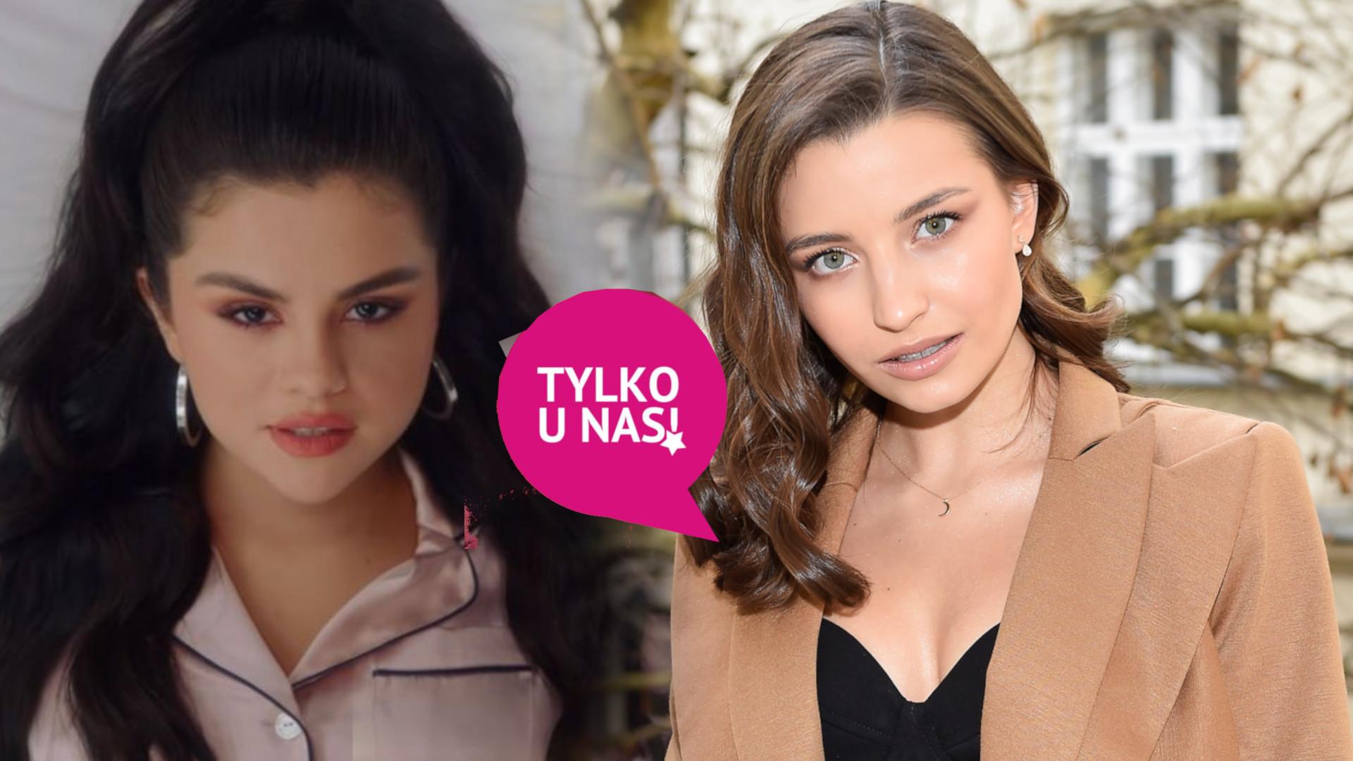 Julia Wieniawa inspiruje się Seleną Gomez: jesteśmy do siebie trochę podobne z urody