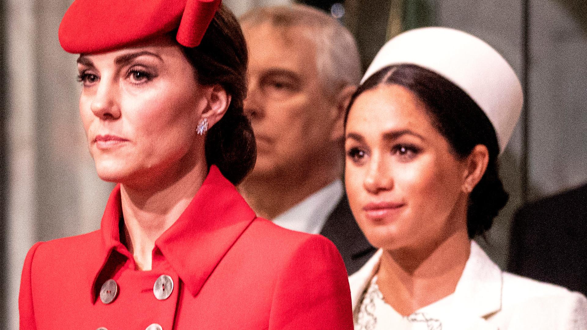 Kate Middleton wykonała GEST w kierunku Meghan! Cały świat patrzy tylko na TO (VIDEO)