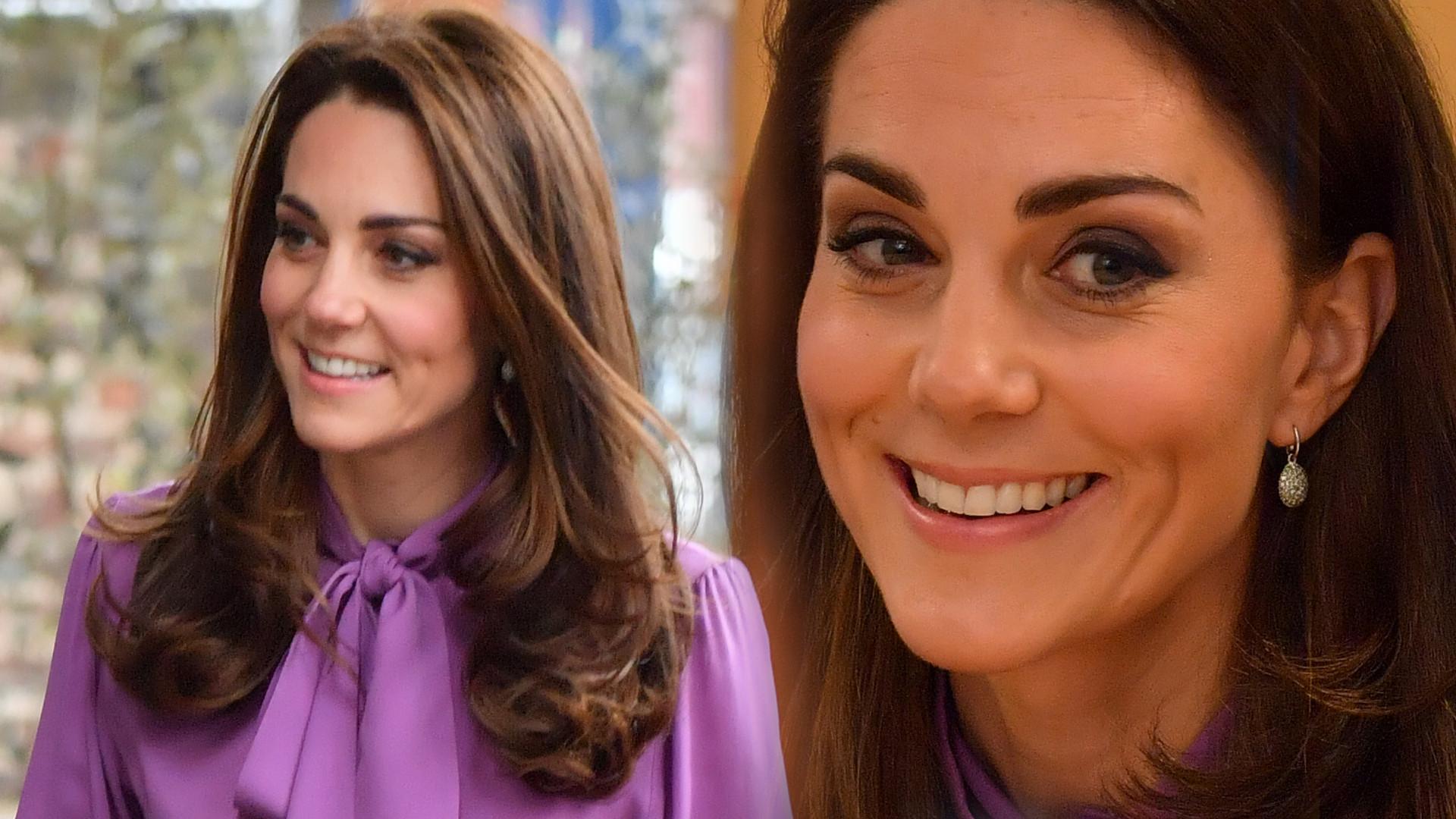 Kate Middleton w spodniach, które NIEZIEMSKO wydłużyły jej nogi (ZDJĘCIA)