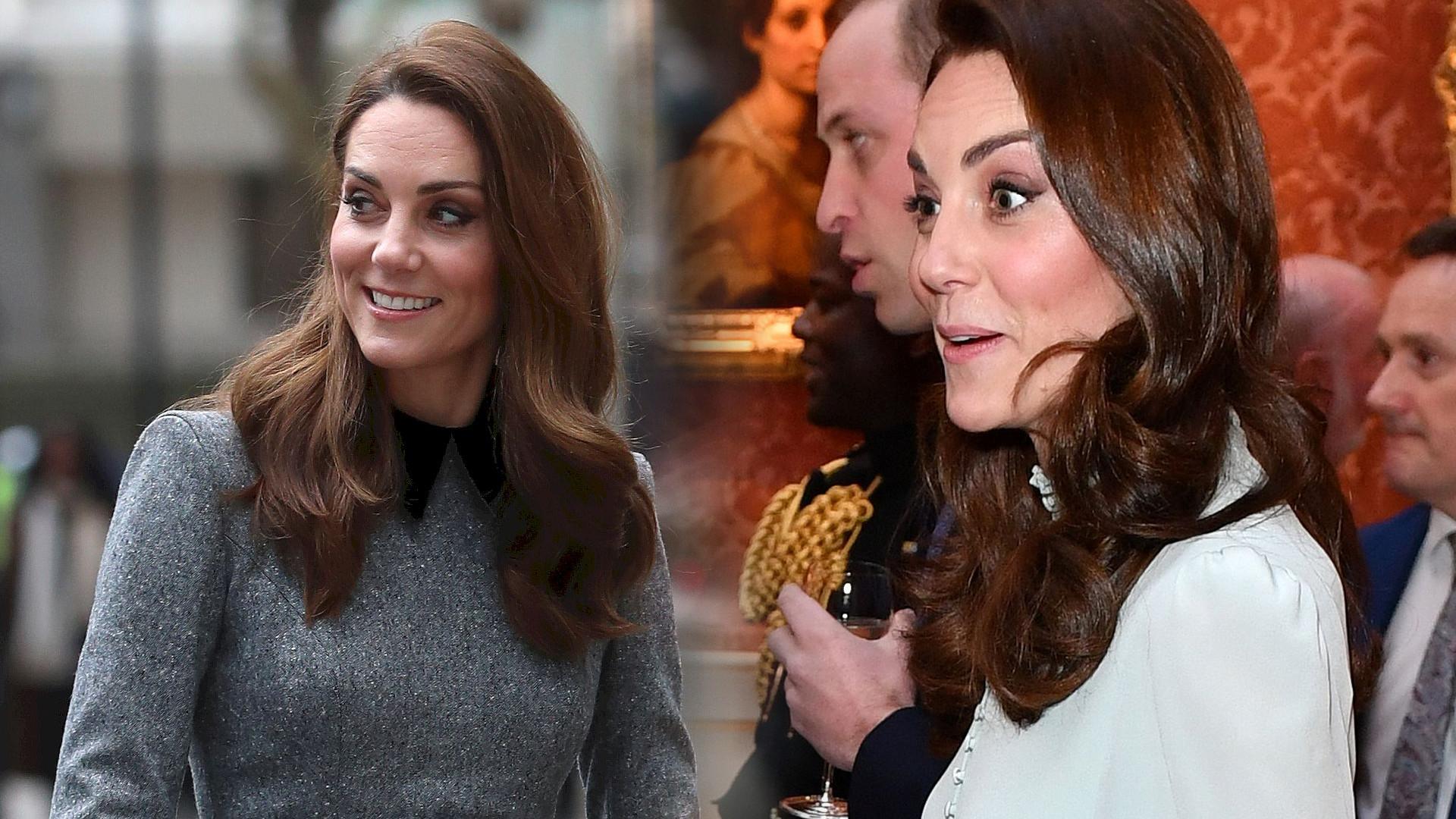 Księżna Kate wyszła z pałacu i ZASKOCZYŁA tym wszystkich